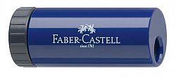 ascutitoare-simpla-plastic-cu-container-faber-castell-blackberry-albastru