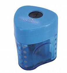 ascutitoare-simpla-plastic-cu-rezervor-faber-castell-grip-pastel