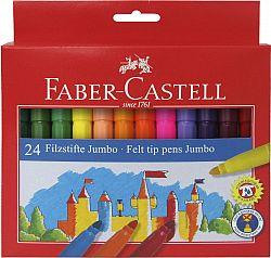 carioca-24-culori-jumbo-faber-castell