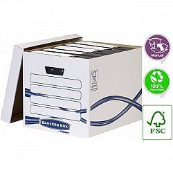 container-arhivare-bibliorafturi-bankers-box-fellowes-alb
