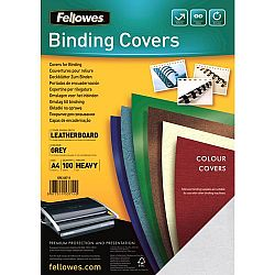 coperta-a4-carton-fellowes-gri