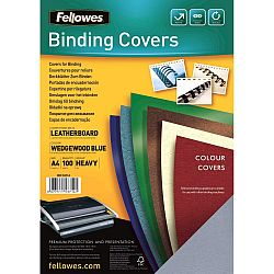 coperta-a4-carton-fellowes-albastru