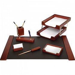 set-de-birou-forpus-din-lemn-cu-8-piese-culoarea-maro
