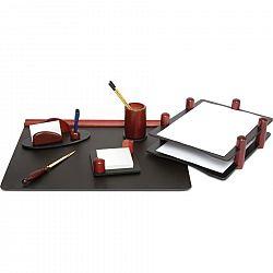 set-de-birou-forpus-din-lemn-cu-6-piese-culoarea-mahon