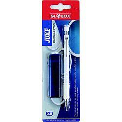 creion-mecanic-metalic-globox-pepe-rubber-grip-0-7mm