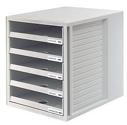 suport-pentru-documente-cu-5-sertare-han-open-gri-deschis