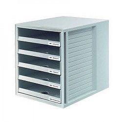 suport-pentru-documente-cu-5-sertare-han-gri-deschis