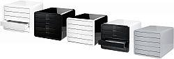 suport-pentru-documente-cu-5-sertare-han-ibox-alb-lucios