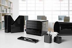 suport-pentru-documente-cu-5-sertare-han-ibox-negru-lucios