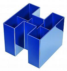 suport-pentru-instrumente-de-scris-han-bravo-albastru-lucios