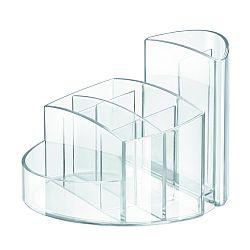 suport-pentru-articole-de-birou-han-rondo-transparent-cristal