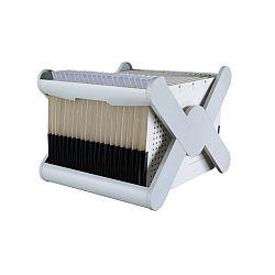 suport-plastic-pentru-35-dosare-suspendabile-han-x-cross-gri-deschis