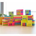 notes-autoadeziv-hopax-76-x-76mm-400-coli-set-pastel-4-culori-asortate-cub