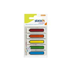 stick-index-plastic-transparent-color-45-x-12-mm-5-x-20-file-set-stick-n-sageata-5-culori-neon