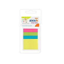 stick-index-hartie-color-50-x-12-mm-50-x-38-mm-4-x-40-file-set-stick-n-4-culori-neon