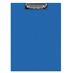 clipboard-dublu-a5-plastifiat-pvc-q-connect-albastru