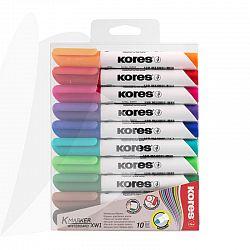 marker-whiteboard-10-set-3mm-cutie-plastic-kores