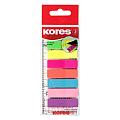 index-adeziv-plastic-kores-8-culori-25-file-culoare-12-x-45-mm