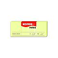 notes-adeziv-hartie-kores-40-x-50-mm-galben-pastel-100-file-set