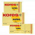 notes-adeziv-hartie-kores-75-x-75-mm-galben-pastel-100-file-set