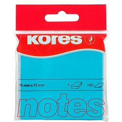 notes-adeziv-hartie-kores-75-x-75-mm-albastru-100-file-set