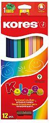 creioane-colorate-12-culori-ascutitoare-triunghiulare-kores