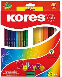creioane-colorate-24-culori-ascutitoare-triunghiulare-kores