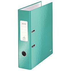 biblioraft-leitz-180-wow-a4-85mm-carton-laminat-turcoaz-metalizat