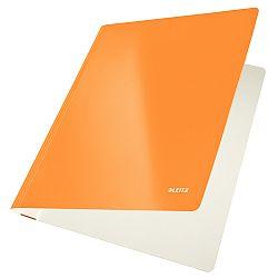 dosar-carton-leitz-wow-cu-sina-capacitate-250-coli-portocaliu-metalizat