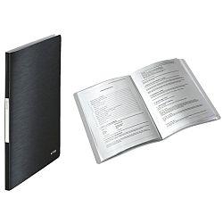 mapa-leitz-style-de-prezentare-plastic-pp-20-de-folii-negru-satin