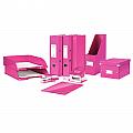 caiet-mecanic-leitz-wow-mecanism-2dr-inel-25mm-carton-laminat-roz-metalizat