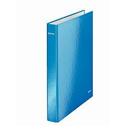 caiet-mecanic-leitz-wow-mecanism-2dr-inel-25mm-carton-laminat-albastru-metalizat