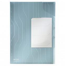mapa-de-protectie-a4-cu-separatoare-leitz-combifile-200-microni-3-bucati-set-albastru