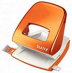 perforator-leitz-5008-30-coli-portocaliu-metalizat