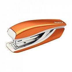capsator-leitz-mini-5528-nr-10-10-coli-portocaliu-metalizat