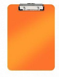 clipboard-simplu-a4-wow-leitz-80-coli-portocaliu