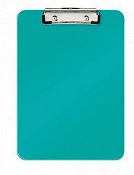 clipboard-simplu-a4-wow-leitz-80-coli-turcoaz