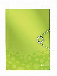mapa-a4-din-polipropilena-cu-elastic-leitz-wow-150-coli-verde