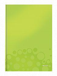 caiet-de-birou-a4-wow-leitz-coperta-dura-dictando-80-coli-verde