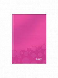 caiet-de-birou-a5-wow-leitz-dictando-80-coli-roz