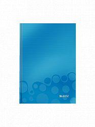 caiet-de-birou-a5-cu-spira-wow-leitz-dictando-80-coli-albastru