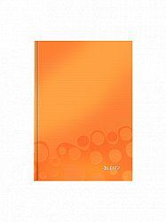 caiet-de-birou-a5-cu-spira-wow-leitz-dictando-80-coli-portocaliu