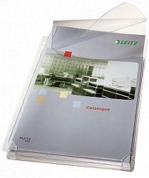 folie-de-protectie-cu-clapa-si-burduf-de-20-mm-jumbo-leitz-170-microni-5-buc-set-transparent