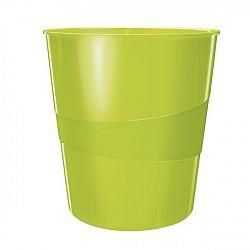 cos-de-birou-pentru-hartii-15-litri-wow-leitz-verde-metalizat