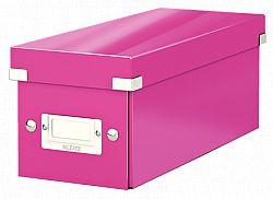cutie-pentru-cd-uri-leitz-suprapozabila-cu-capac-roz