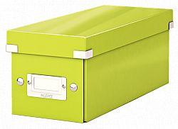 cutie-pentru-cd-uri-leitz-suprapozabila-cu-capac-verde