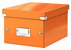 cutie-suprapozabila-leitz-click-store-mica-portocaliu