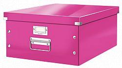cutie-suprapozabila-leitz-click-store-mare-roz