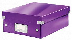 cutie-suprapozabila-leitz-click-store-organizer-mica-mov