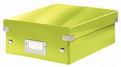 cutie-suprapozabila-leitz-click-store-organizer-mica-verde